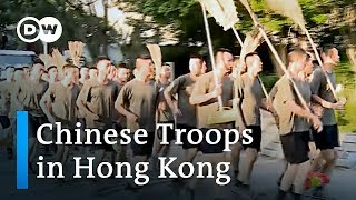 China deploys military: A new phase in Hong Kong protests? | DW News
