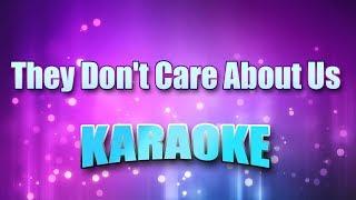 Jackson, Michael - They Don't Care About Us (Karaoke & Lyrics)