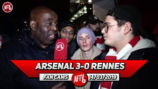 Arsenal 3-0 Rennes | It's Disgraceful That So Many Fans Left Early (Jack)
