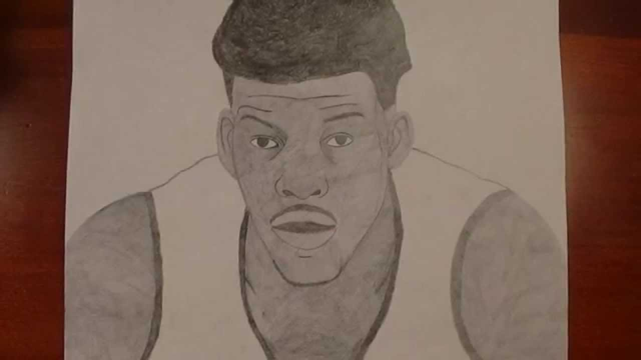 How To Draw Jimmy Butler Youtube