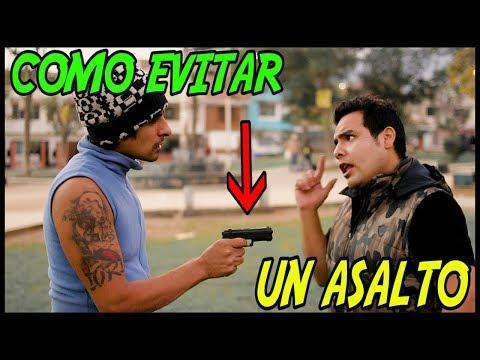 COMO EVITAR UN ASALTO - Loco IORI (el Brayan )