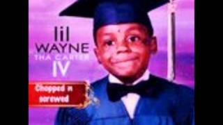 Lil Wayne-Blunt Blowin (screwed and chopped) off Carter 4..!!!!