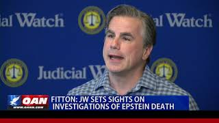 Judicial Watch investigating Epstein's death