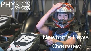 An Overview of Newton's Ląws of Motion | Physics in Motion