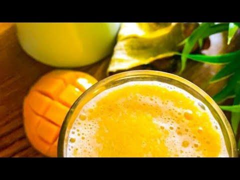 बस एक गिलास हर सुबह और पुरे दिन ACTIVE रहे Mango Banana Oats Smoothie | Best Morning Smoothie Recipe
