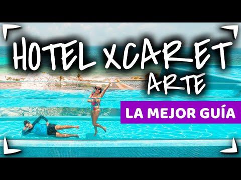 HOTEL XCARET ARTE Adultos ✅ PARQUES INCLUIDOS ►Mejor HOTEL XCARET MEXICO o ARTE 🍔ALL FUN INCLUSIVE