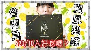 """吃貨趣 🍍什麼!谷阿莫出鳳梨酥~ 到底好不好吃呢? 😋"""" 用料很高級 """"【 Feng 】"""