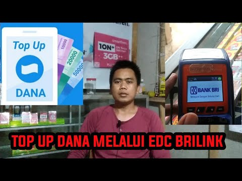 CARA TOP UP DANA VIA EDC BRILINK
