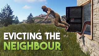 EVICTING THE NEIGHBOURS! - Rust SOLO Survival #2 | S5