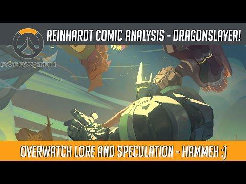 Overwatch Lore - Reinhardt Digital Comic Review And Analysis! | Hammeh