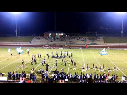 Crossville High School Band 9-19-2014