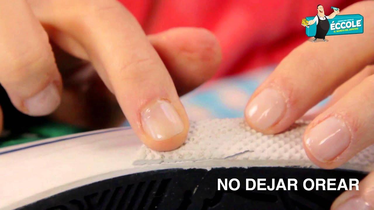 ÉCCOLE - Tutorial Reparación de Borde de Zapatillas