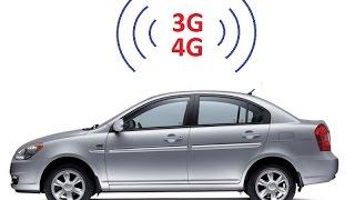 Автомобильная 3G/ 4G антенна (готовый комплект).