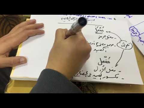 تدريبات علي الزمان والمكان الجزء الاول الاستاذ احمد الحلو