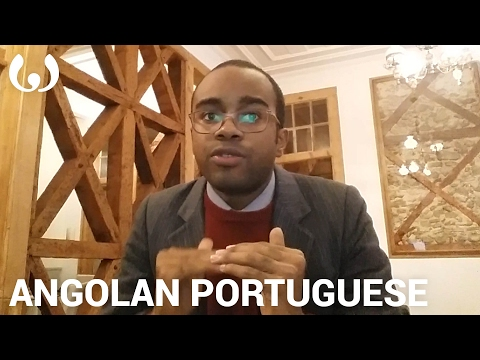 WIKITONGUES: Stéfane speaking Angolan Portuguese