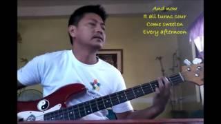 sway (bic runga) bass cover