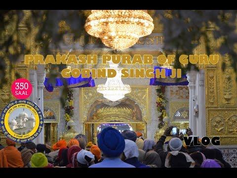 350 SAAL GURU GOBIND SINGH JI PRAKASH PURAB || PATNA CITY