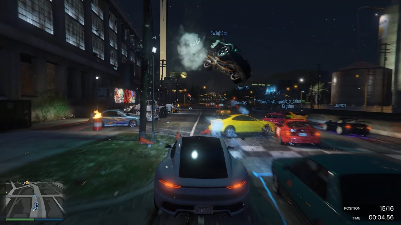 GTA Online - Pursuit Races are unpredictable and you should never give up!