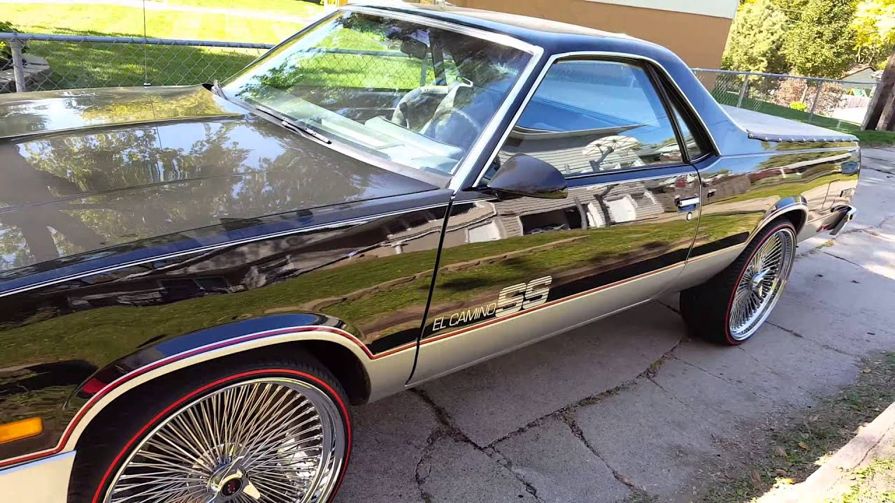 Chevy El Camino On 24 Quot Dayton Amp Redline Tires By The Tire