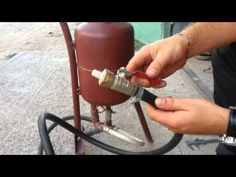 Как сделать пескоструйный аппарат своими руками