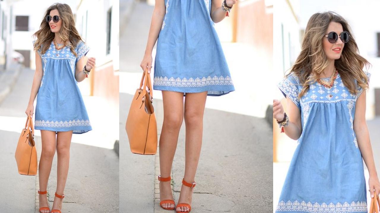 Modelos de vestidos del diario