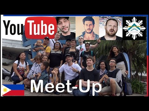 Mall of Asia Meet up with Youtubers - Aheezy Tribe - Anthony Smith - The Hungry Syrian Wanderer