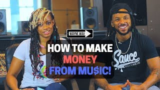 Download lagu How To Make Money in the Music Industry in 2018 | Sponsored by DistroKid