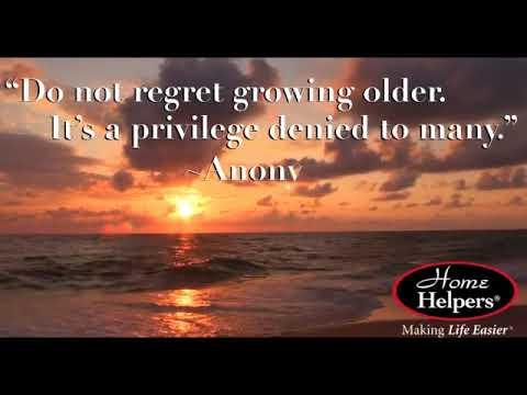 Do Not Regret Growing Older Youtube
