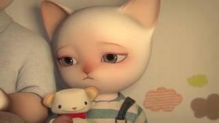 Семья котов грустный мультик