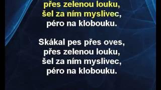 Karaoke klip Skákal pes - Dětské písničky