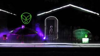 "2013 Halloween Light Show ""Close Encounter/Final Countdown"""