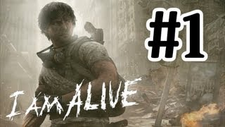 I Am Alive Walkthrough Part 1 - PC Max Settings Gameplay With Commentary 1080P