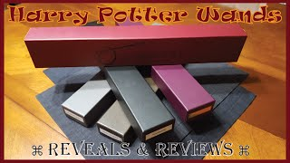 The Roden Kids show off their new official Ollivander wands from th...