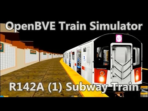 OpenBVE ►1 Train South Ferry to 242nd Street!◀  (R142A)