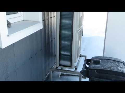 Daikin Altherma Low Temperature Split Defrost Cycle -15C