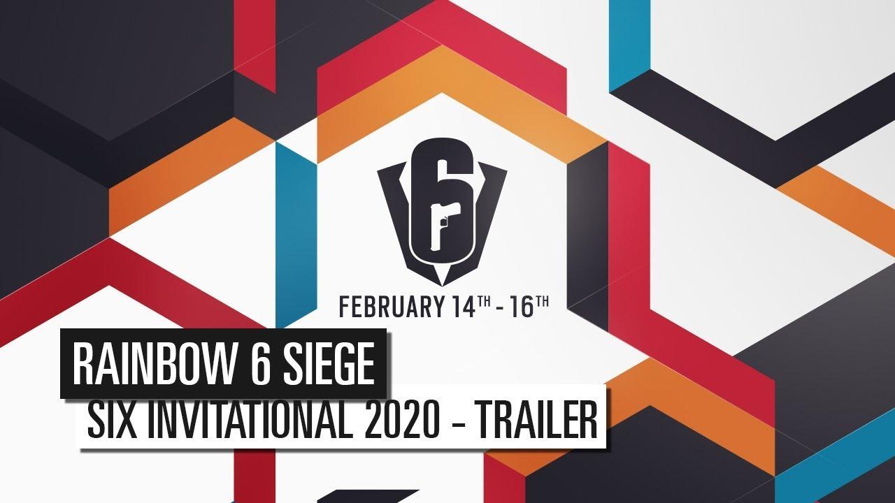 Six Invitational 2020 Trailer Ubisoft De Youtube