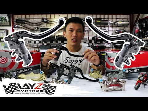Brembo RCS (Master Rem) Review by Layz Motor