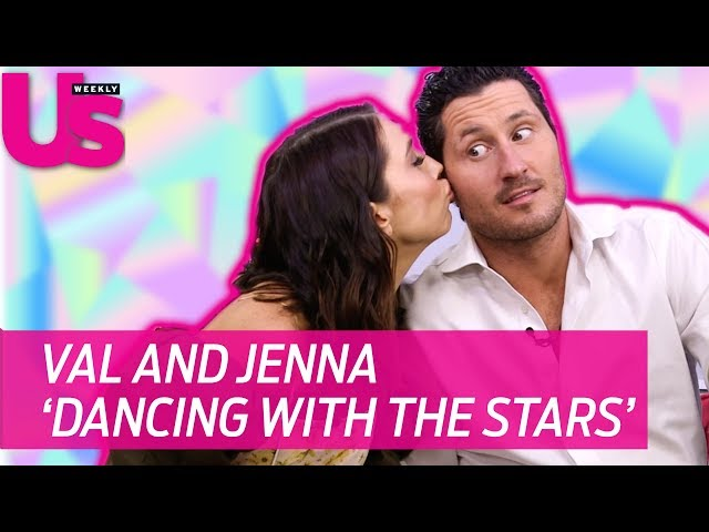 Val Chmerkovskiy and Jenna Johnson Dancing with the Stars
