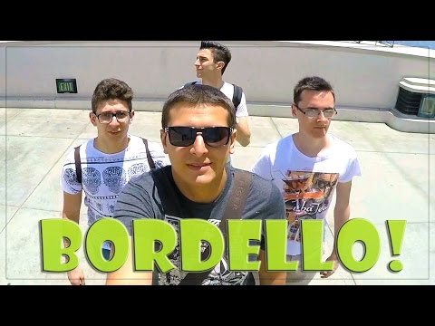 BORDELLO A LOS ANGELES + RAP BATTLE w/ St3pNy SurrealPower & Anima