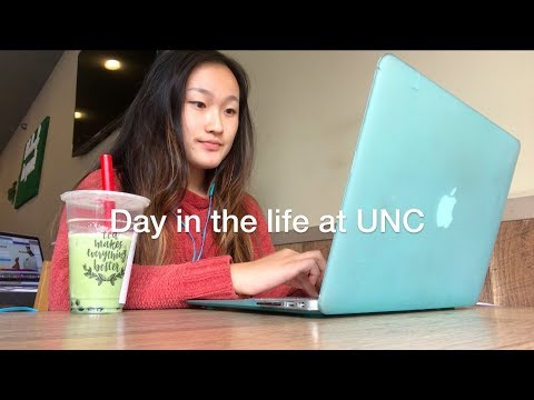 Day in my life at UNC Chapel Hill