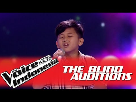 "Alde ""Kamu"" I The Blind Auditions I The Voice Kids Indonesia GlobalTV 2016"