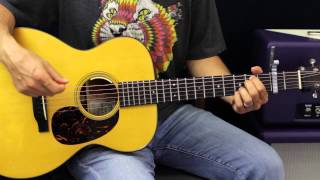 Sam Hunt - Leave The Night On - Acoustic Guitar Lesson - EASY - Country Song