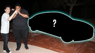 SURPRISING MY BEST FRIEND WITH A NEW CAR!! (emotional)