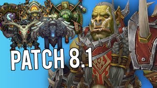 5 Classes I Want To Play In Patch 8.1 -  Rogue PvP WoW: Battle For Azeroth