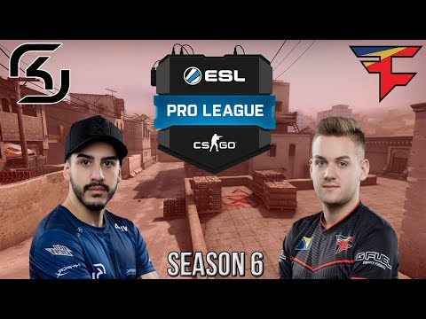 CS:GO - FaZe vs SK Gaming Final?! GUARDIAN INSANE CLUTCH! - BEST OF ESL Pro League Season 6 Finals