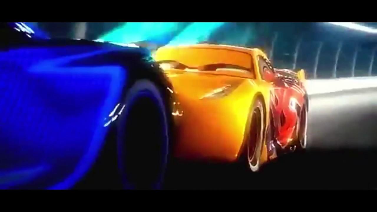 Cars Movie Final Race