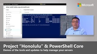 "Updates to server management with Project ""Honolulu"" and PowerShell Core"