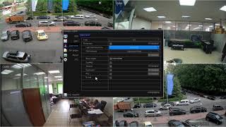 Комплект видеонаблюдения HD 1080p. Тестовая видеозапись.