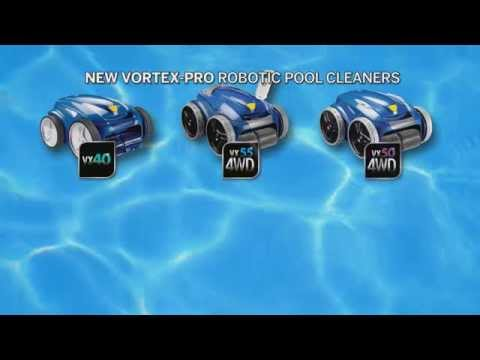 Zodiac Introduces the Vortex-Pro Range of Robotic Pool Cleaners