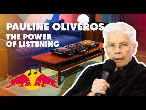 Pauline Oliveros Lecture (Montréal 2016) | Red Bull Music Academy